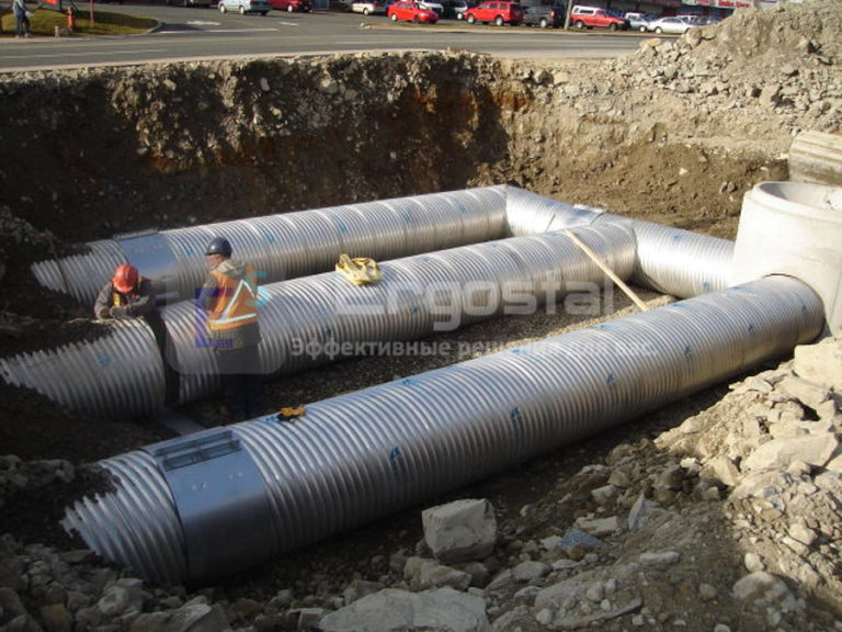 Спиральновитые оцинкованные резервуары-2