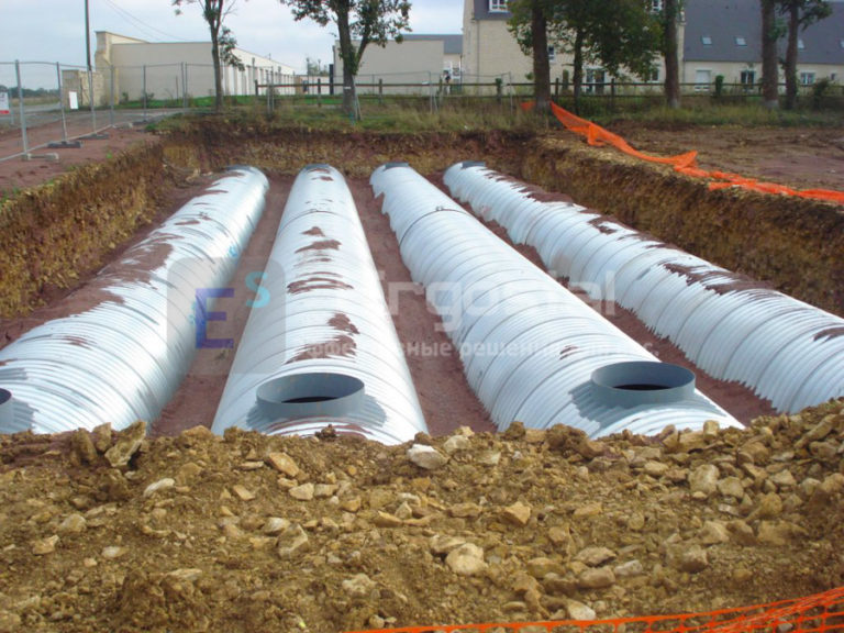 Спиральновитые оцинкованные резервуары-3