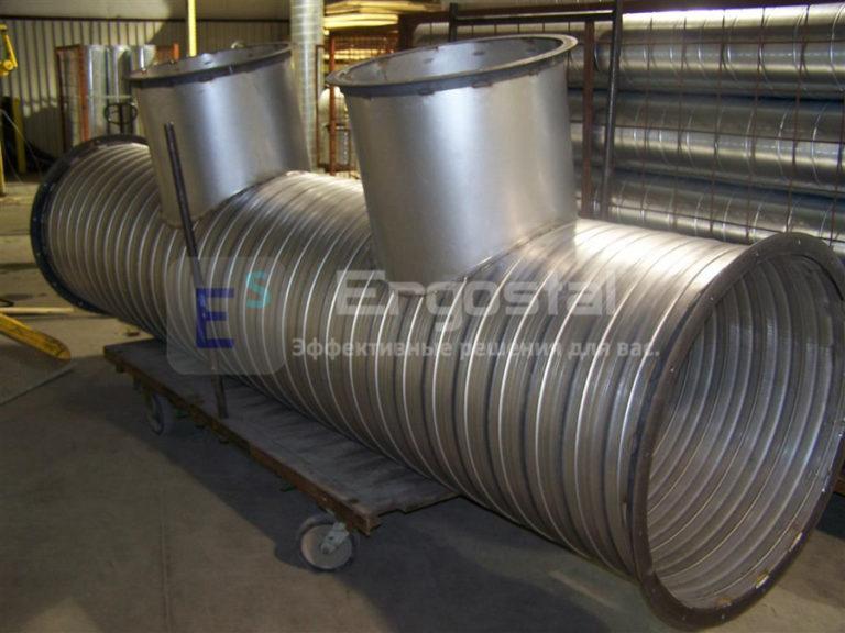 Спиральновитые оцинкованные резервуары-4