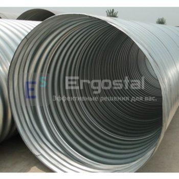 Спиральновитые металлические гофрированные трубы