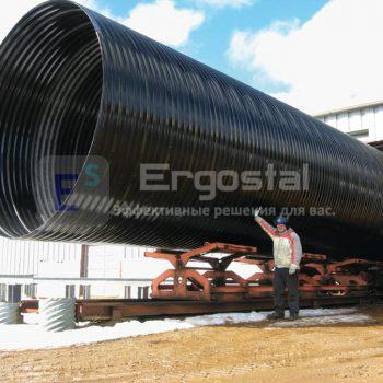 Спиральновитые металлические гофрированные трубы-10