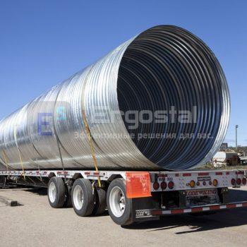 Спиральновитые металлические гофрированные трубы-9